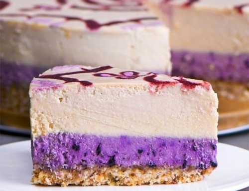 MAQUI BERRY CHEESECAKE